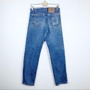 Vintage Levi's Orange Tab 505 Distressed Jeans